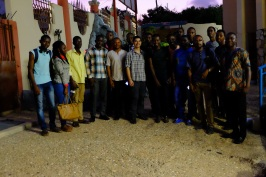 A happy parting shot with the AIT students