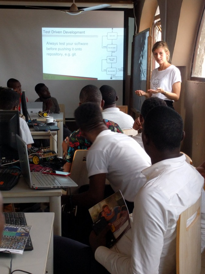 Carmen talks about software verification.