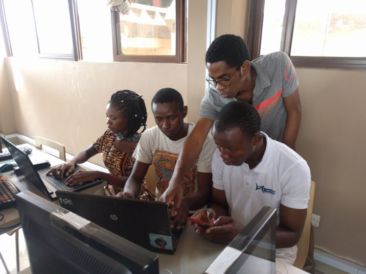 This group logged onto the Pi from 3 computers at once.