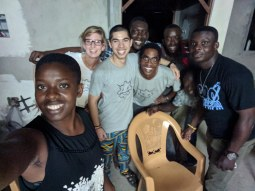 Some of our key crew from Togo.